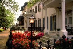 Savannah, Georgia - The Historic District. Most Beautiful City in North America