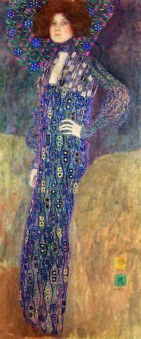 Gustav Klimt - Emilie Floege - jetzt bestellen auf kunst-fuer-alle.de