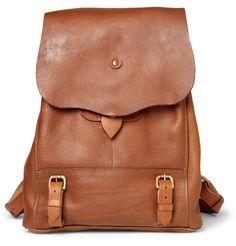 Bill Amberg Hunter Full Grain Leather Backpack