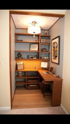 Janet Perry: Walk In Closet To Home Office