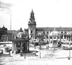Plaza Bandstand north of Electric Tower :: Pan-American Exposition of 1901, Buffalo, NY