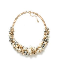 COMBINATION PEARL NECKLACE from Zara