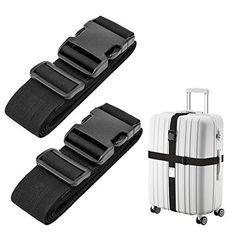 2ff8701b4772 Luxebell Luggage Straps Suitcase Belt Travel Accessories, 1.96 in W x 6.56  ft L