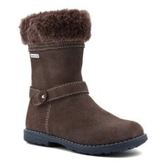 Aqua Fur, Brown Suede Girls Zip-up Boots Baby Shoes Snow Boots, Ugg Boots, Ankle Boots, Girls Shoes, Baby Shoes, Warm Winter Boots, Brown Girl, Kids Boots, Childrens Shoes
