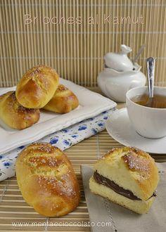Menta e Cioccolato: Brioches al Kamut e latte di Riso. E terza stampa di Soffice Soffice!!