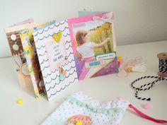 Mini im Beutel - Maggie Holmes/Crate Paper Carousel - Ulrike Dold Mini Albums Scrap, Mini Scrapbook Albums, Project Life, Crate Paper, Mini Books, Crates, Stampin Up, Carousel, Minis