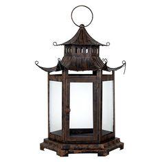 John Lewis Fusion Oriental Pagoda Lantern