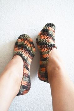 """In Turkey we have a saying, """"Keep your head cool, keep your feet warm"""". These stylish and beautiful wool slippers will keep your feet warm even on"""