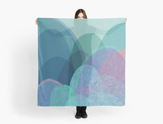 It is not the mountain we conquer but ourselves  by OliviaJames large scarf huivi boreo