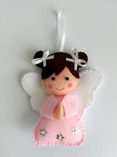 Simply click the link to get more information on DIY Christmas Projects Diy Xmas, Handmade Christmas Gifts, Christmas Sewing, Felt Crafts, Holiday Crafts, Homemade Christmas, Felt Christmas Decorations, Felt Christmas Ornaments, Christmas Angels