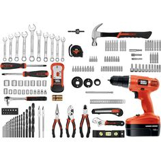Black and decker 150 piece home project kit