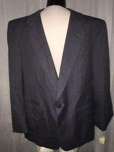 Christian Dior For Macy's Dark Gray Men's Blazer Men's Size 40 New! $210 #ChristianDior #TwoButton