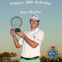 Happy 28th Birthday to Ben Martin a South Carolina native who earned his 1st PGA Tour victory this season at the 2014 Shriners Hospitals for Children Open. Did you know PGCC has a campus in South Carolina? Learn more about our Hilton Head campus here: http://golfcollege.edu/index.php/hilton-head #Golf #GolfBirthday #PGA #ProGolf #GolfCollege #PGCCGolf