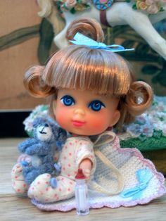 Tiny Liddle Diddle Kiddle Re-root by Spicyfyre Creations, via Flickr