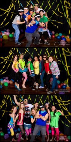 80's photo booth