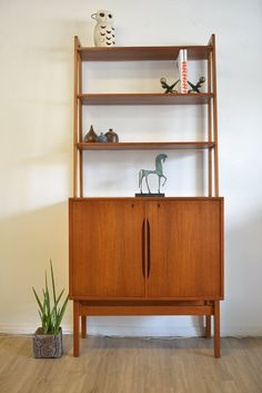 Danish Modern Teak Bar or Cabinet with by TheModernVault on Etsy