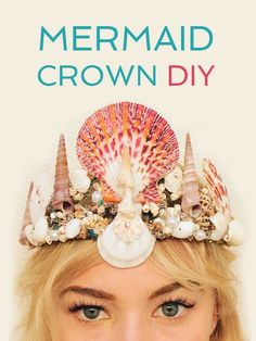 Make Your Own Mermaid Crown How-to DIY