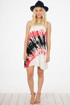 6f88862c0e Peach Love Strappy Tank Tie Dye Mini Dress - Red Black - Debra s Passion  Boutique