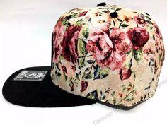 boné feminino florido floral maffia co. original snapback