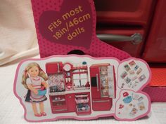 American Girl Doll Style Hair Salon Chair   Faux American Girl ...
