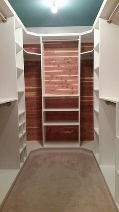 teds-woodworking.... Anyone can do this with the right plans diy woodworking how to use Cedar-lined walk-in closet.