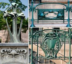 Aesthetica urbs | France, Art nouveau architecture and Art deco