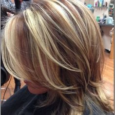 examples of blonde with lowlights - Google Search
