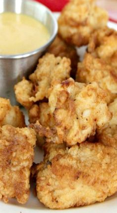 Copycat Chick-fil-a Chicken Nuggets & Sauce