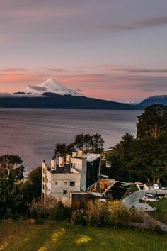 A deeply luxurious stone-and-glass hotel on the shore of Lake Llanquihue, with volcanic vistas, a spoiling spa and on-your-doorstep outdoor pursuits Making Memories, Latin America, Lake District, Hotel Reviews, Volcano, Patagonia, Chile, Travel Inspiration, Eco Friendly