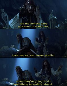 Pirates of the Caribbean: The Curse of the Black Pearl Obviously Percy's an honest man/boy person