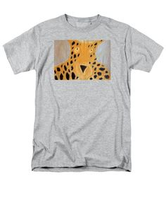 8c54efe70 Patrick Francis Heather Designer T-Shirt featuring the painting Cheetah  2014 by Patrick Francis Retro