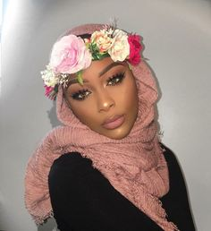 "turbanista: ""Jummah Mubarak  ✨ Beauty Blogger @___enimsay from the USA  """