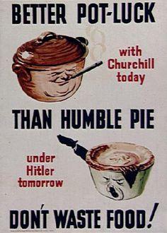 Better Pot-Luck than Humble Pie