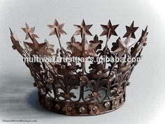Look what I found Via Alibaba.com App: - Star Tiara Wedding Crown, Vintage Crown, Antique french crown, Jeweled Crown, Hair Jewelry Crown