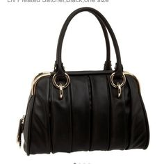 HP Bally Liv Black satchel - out of stock I swooned over this bag when I first bought it but for some reason have never put it into my rotation of handbags. I don't know why! It's gorgeous! A huge part of me does not want to part with it, but for the right price, I could. It's truly an amazing bag and was only used 2 or 3 times, by me, for a few hours each time. It's in perfect condition and I kept the paper in it the entire time so it would retain its shape. Dust bag included. Bally Bags…