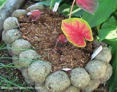 Hypertufa is a mixture of Portland cement and other ingredients such as peat moss, sand, perlite, or vermiculite and water. It is used to make fake rock containers and other items.