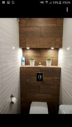 Dreamy wc toilet in bathroom ideas for you waaaw 17 -You can find For the home and more on our website.Dreamy wc toilet in bathroom ideas for you waaaw 17 - Small Toilet Room, Guest Toilet, Downstairs Toilet, Small Toilet Decor, Basement Toilet, Basement Bathroom, Bathroom Design Small, Bathroom Interior Design, Modern Bathroom