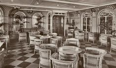 Palm Court, RMS Olympic