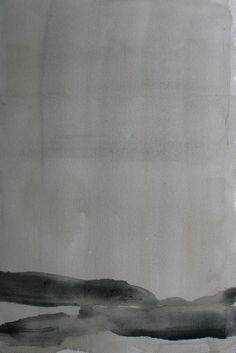 """Koen Lybaert; Watercolor, 2013, Painting """"ambient N°0074"""""""