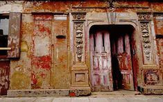 """The seemingly """"secret entrance"""" to the historic & divine Wilton's Music Hall, East London. Enter and be enchanted."""