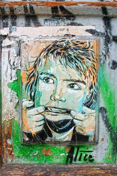 Street Art: Alice Pasquini - Berlin