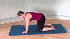 Upper back and shoulder stretch
