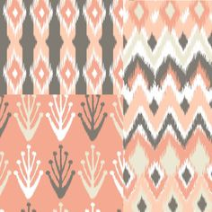 love the ikat patterns on far right