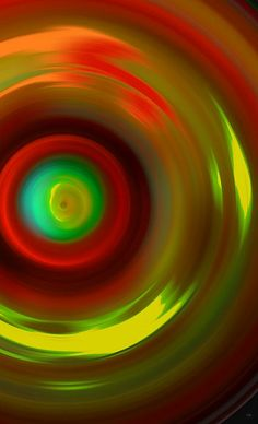 The No.13 Colored Hurricane by Marcello Cicchini #abstractart