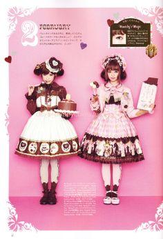 Angelic Pretty - Melty Chocolate & Chess Chocolate
