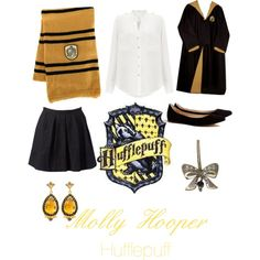 Molly Hooper - Hufflepuff by danielle-v-jacoby on Polyvore