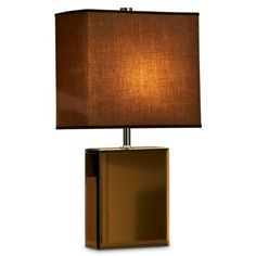 Find it at the Foundary - Hepburn Table Lamp - Brown