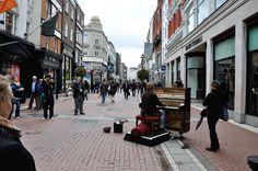 Dublin, Grafton Street. Foto de David Ramos