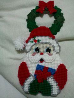 Santa door knob holder