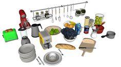 Kitchen stuff - 3D Warehouse